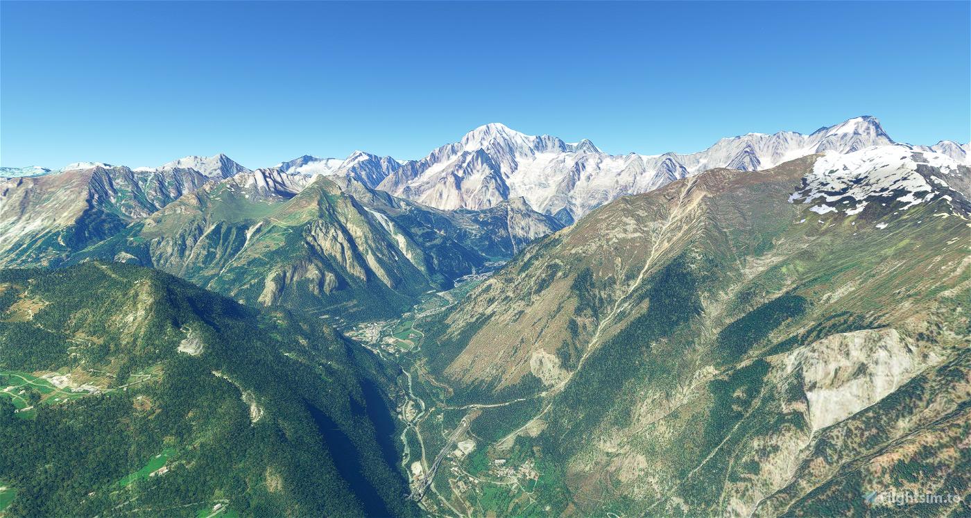 ITALIAN ALPS 20m DEM - High Resolution Terrain Elevation Data from LIDAR Imaging