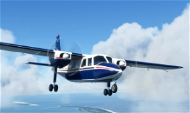 Britten-Norman BN-2 FLN Frisia D-IFLN Microsoft Flight Simulator