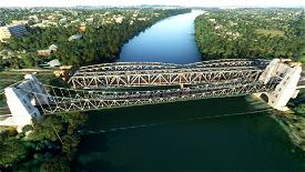 Indooroopilly Bridges (featuring the Walter Taylor Bridge) Microsoft Flight Simulator