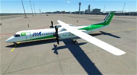 Dash8 Q400 ANA Wings EcoBon [4K] Microsoft Flight Simulator
