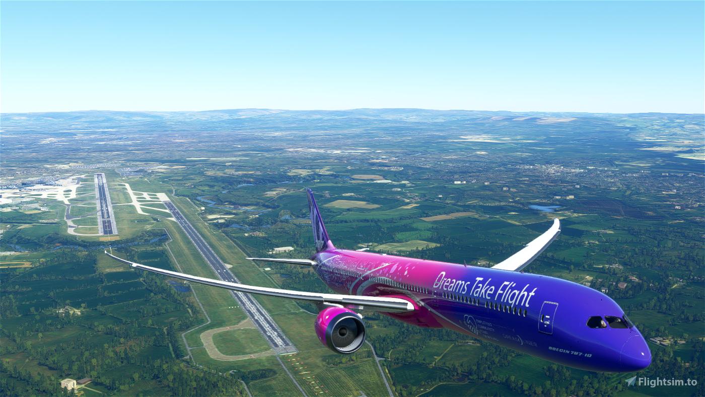 Boeing 787 Dreams Take Flight Flight Simulator 2020