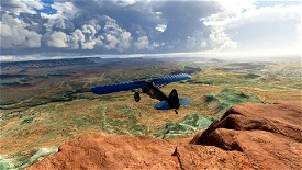 Hurricane Mesa, Washington County, Utah (UT27) Microsoft Flight Simulator