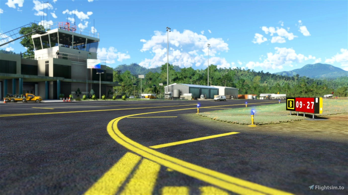 Douglas-Charles (TDPD) & Canefield (TDCF) Airports Updated Scenery Project V1.1