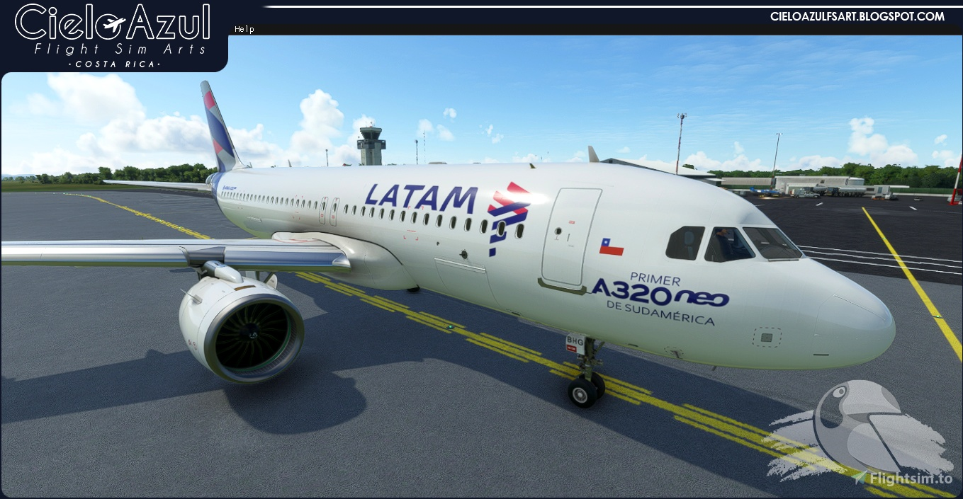 [A32NX] LATAM | Package | FlybyWire Airbus A320neo (8K)