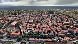 Rimini city centre and landmarks Microsoft Flight Simulator