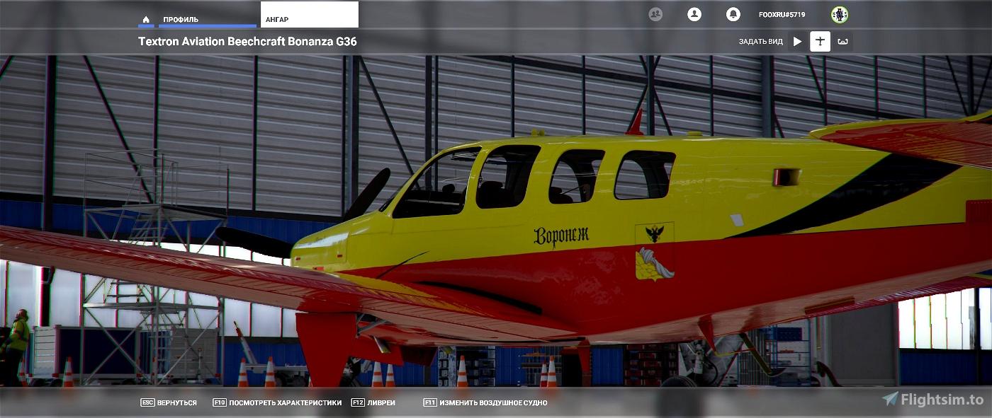 Beechcraft Bonanza Voronezh Aviation Club