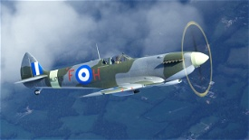 "Spitfire Mk.IX MJ755 ""The Greek Spitfire"" (G-CLGS) Microsoft Flight Simulator"
