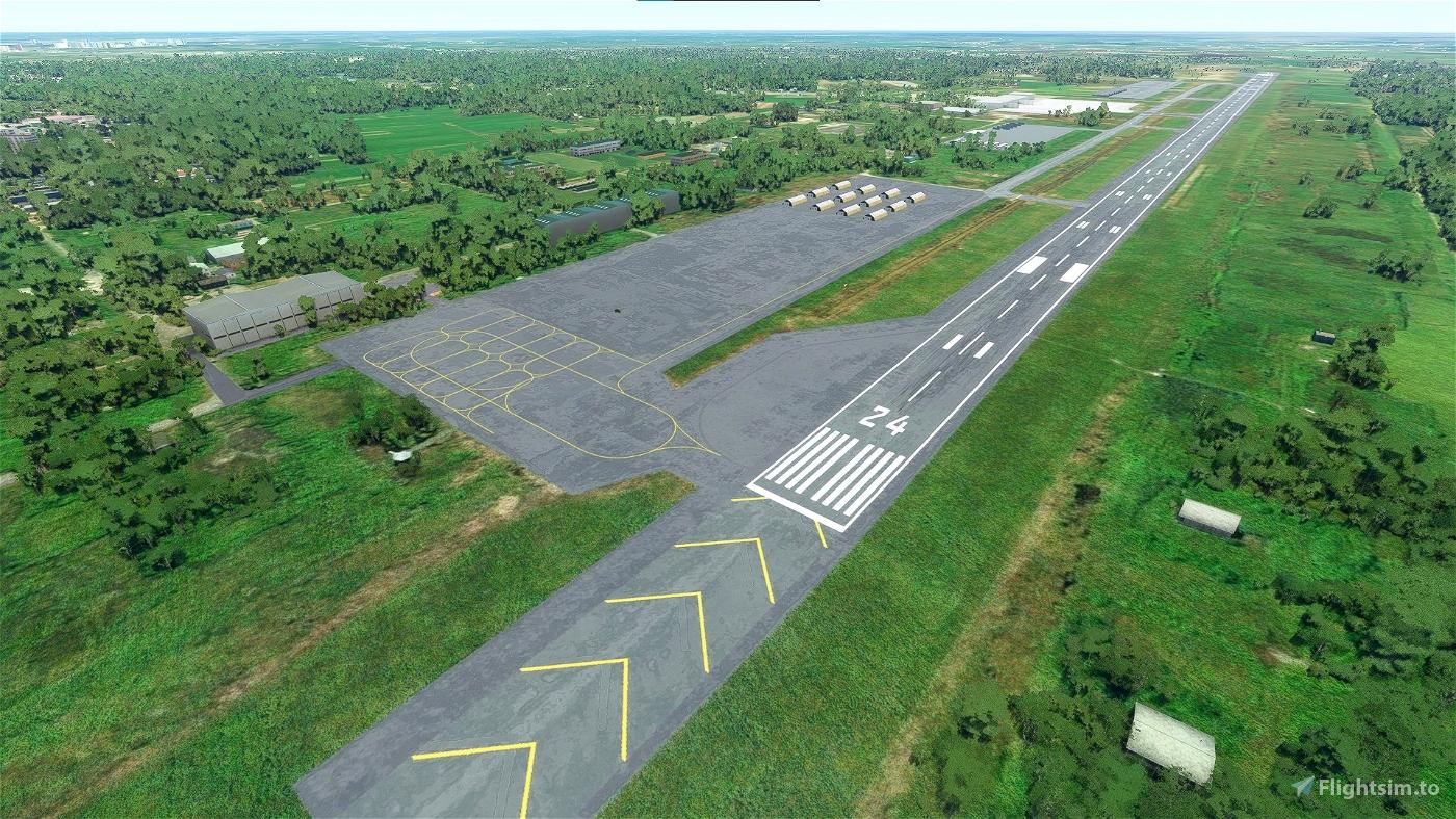 Tra Noc Airport - Vietnam