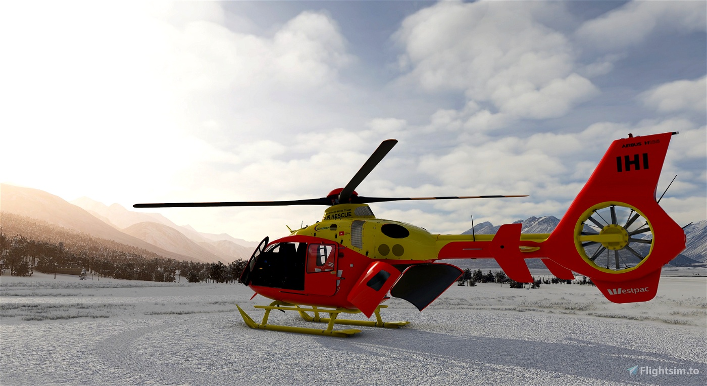 Airbus H135 | Canterbury Westpac Rescue Helicopter | 4k |