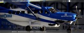 Cessna 208B Grand Caravan почта России Microsoft Flight Simulator