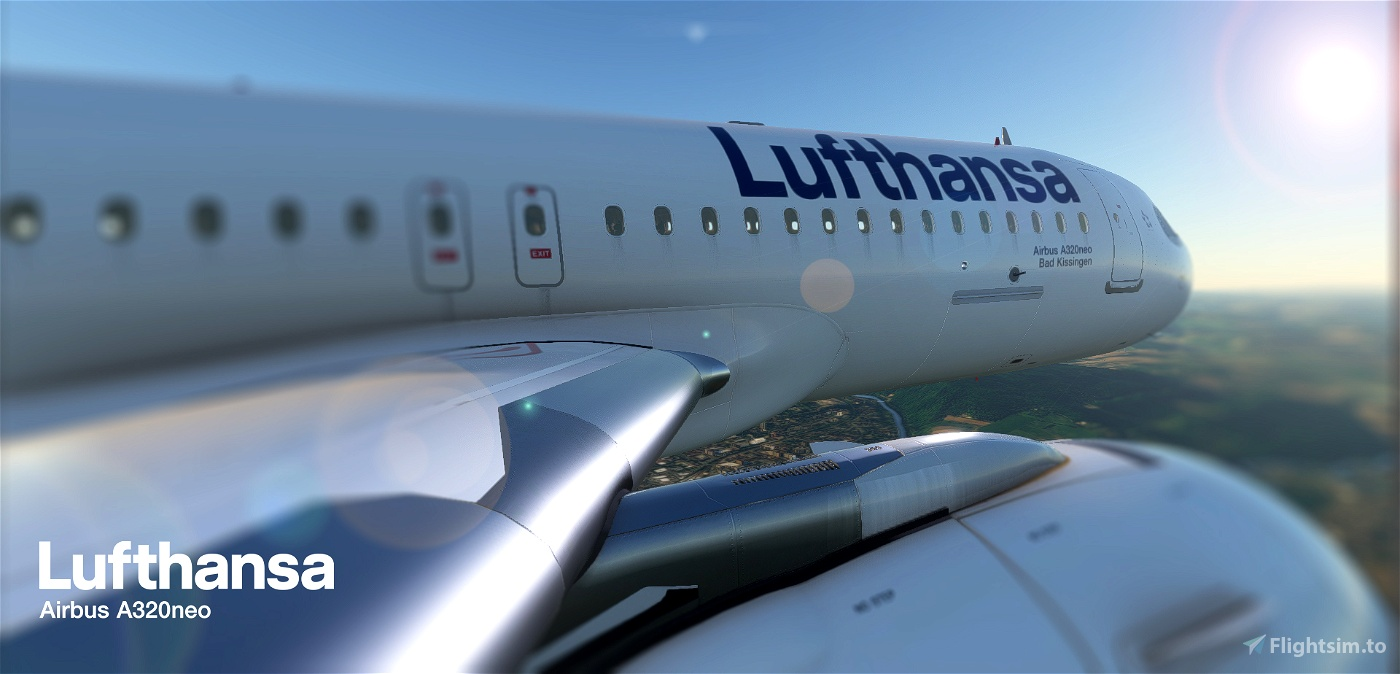 [A32NX] FlyByWire and all mod | Airbus A320neo Lufthansa D-AIJA | in [8k] OFFICIAL Realistic