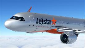 [A32NX] (13bandit) A320neo Jetstar Airways [8k] VH-XSJ Microsoft Flight Simulator