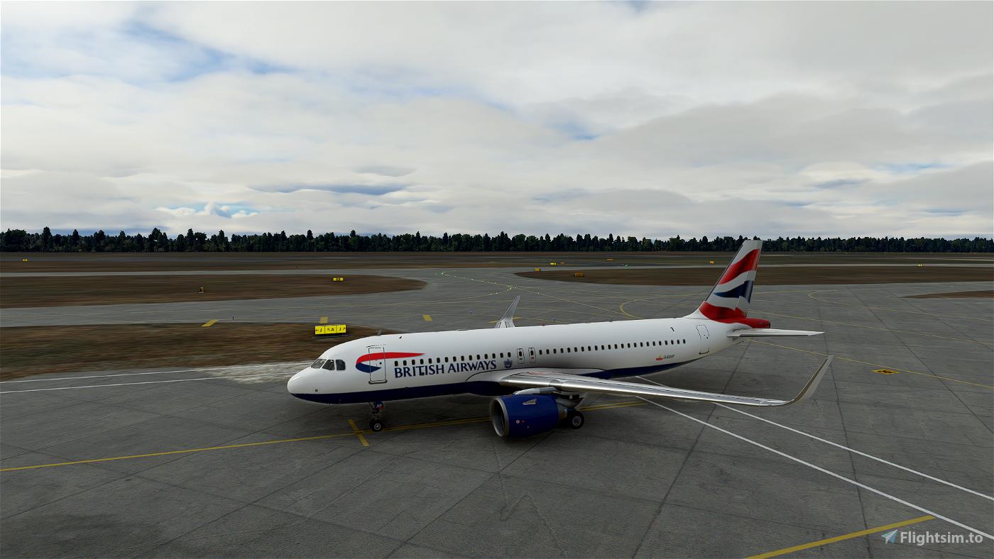 British Airways A32NX G-EUXF [4K] Microsoft Flight Simulator