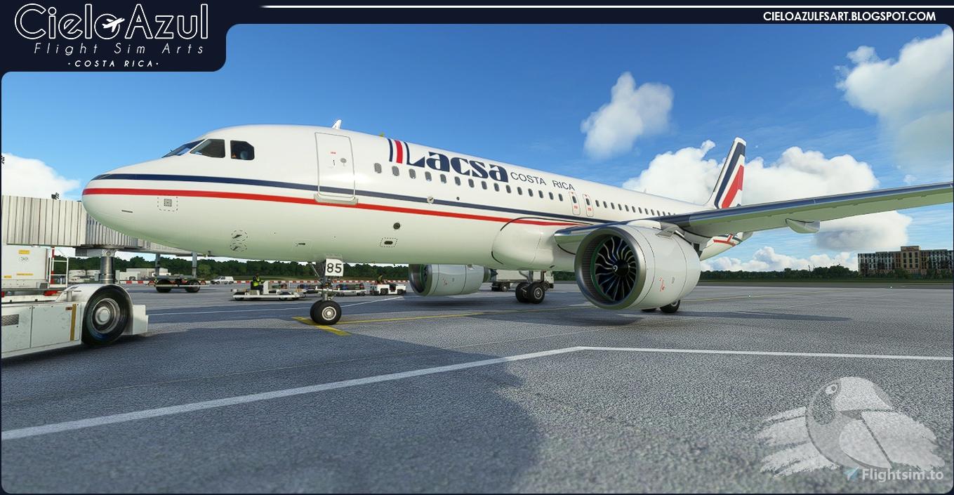 [A32NX] LACSA | N483GX & N485GX | FlyByWire Airbus A320neo (8K)