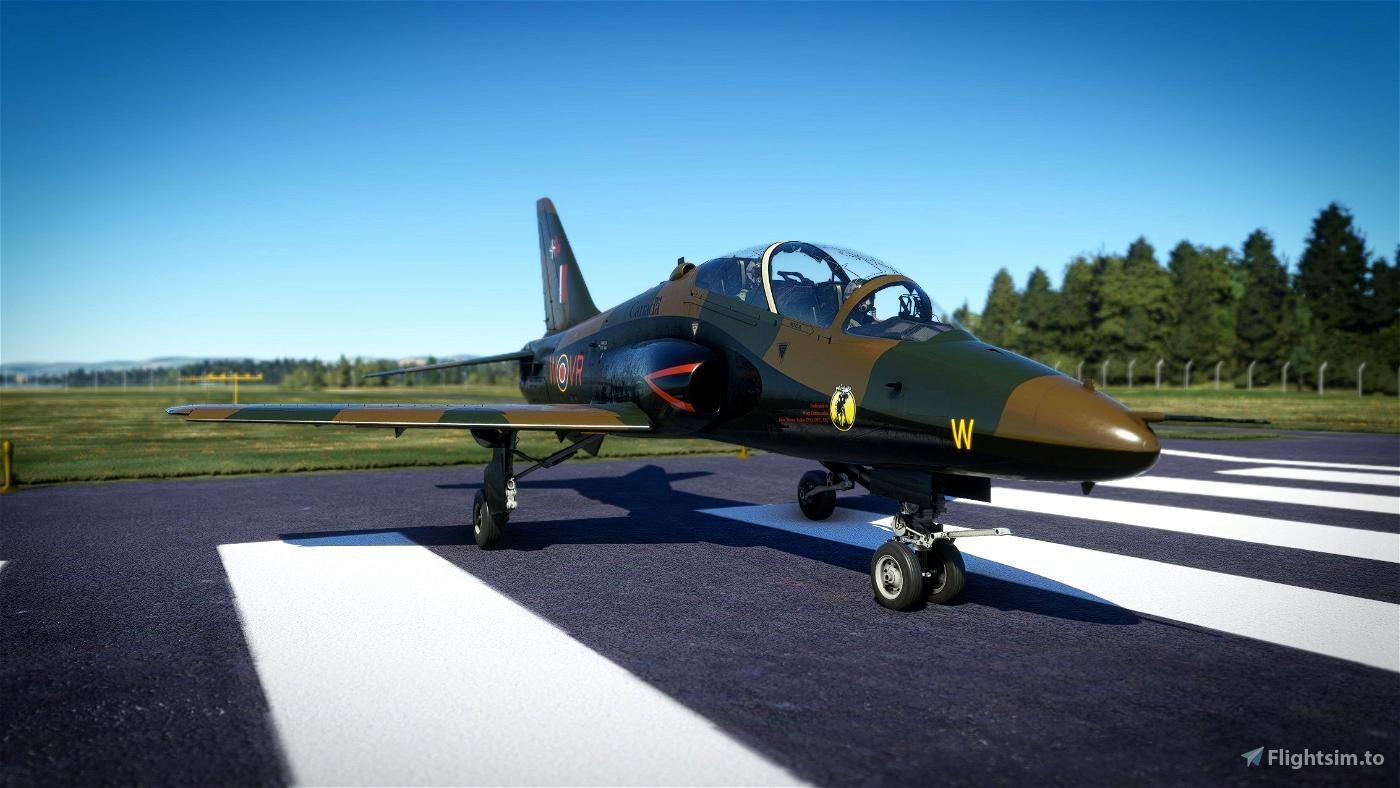 Indiafoxtecho Boeing T-45C Goshawk RCAF Hawk Royal Canadian Air Force Camo livery.