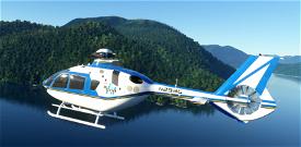 H135 Jurassic Park InGen Livery Microsoft Flight Simulator