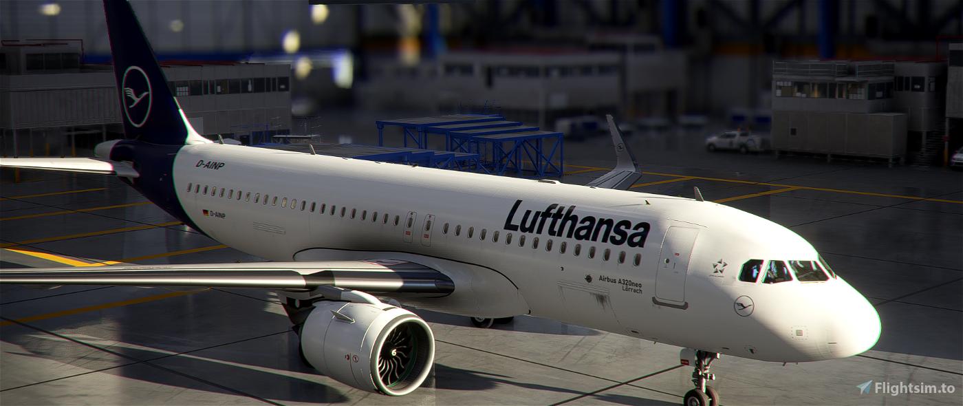 [A32NX] [FBW] Lufthansa [10K] (Dirty Version) Coffee Cup (D-AINN) No Text Mirroring