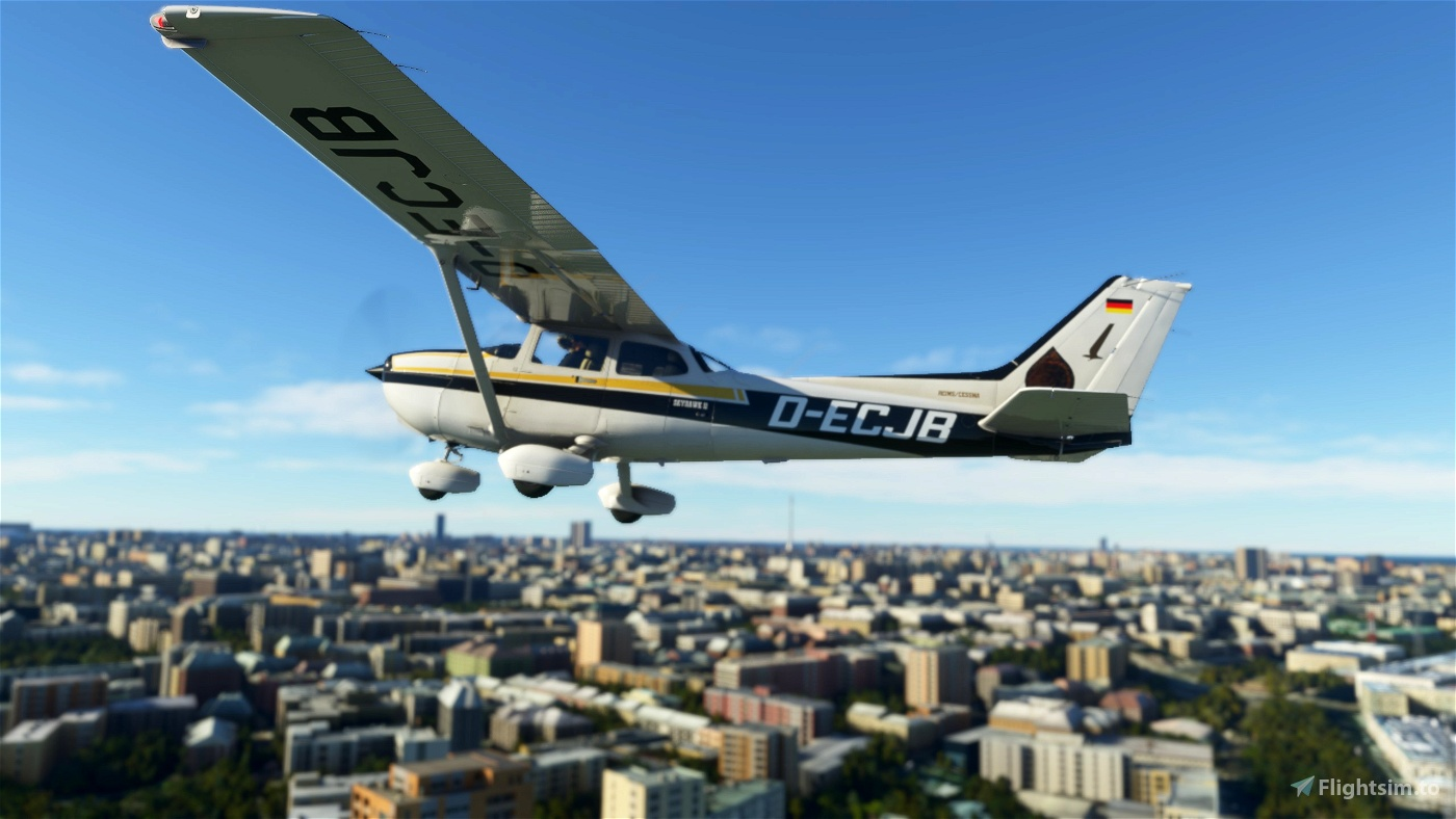 Mathias Rust's  Cessna 172SP Classic & AS1000 D-ECJB 4K