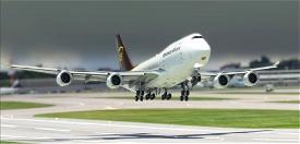 [ULTRA][NO-MIRROR] Asobo Boeing 747-8i UPS United Parcel Service (N626UP) Microsoft Flight Simulator