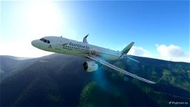 [A32NX] Bulgaria Air - България ер Microsoft Flight Simulator
