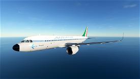 [A32NX] Alitalia Retro  Microsoft Flight Simulator
