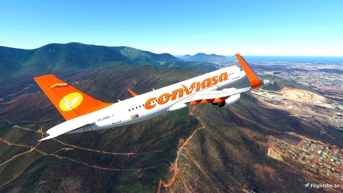 [A32NX] CONVIASA NX Microsoft Flight Simulator