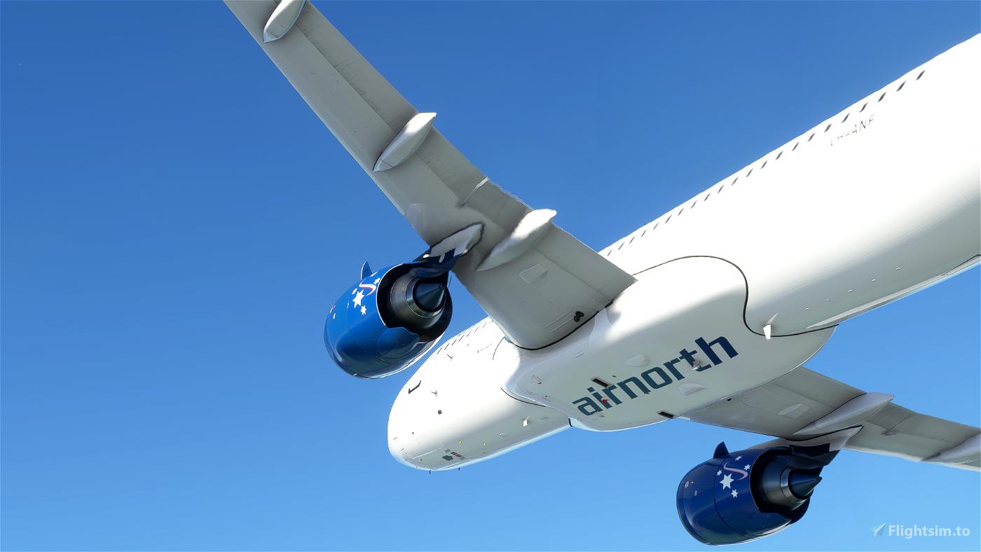 [FBW A32NX] (13bandit) A320neo Airnorth [8k] VH-ANF