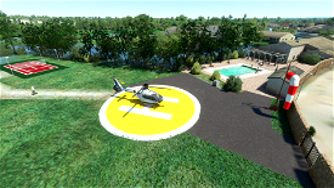 Hôtel & Spa Georges Blanc à Vonnas Microsoft Flight Simulator