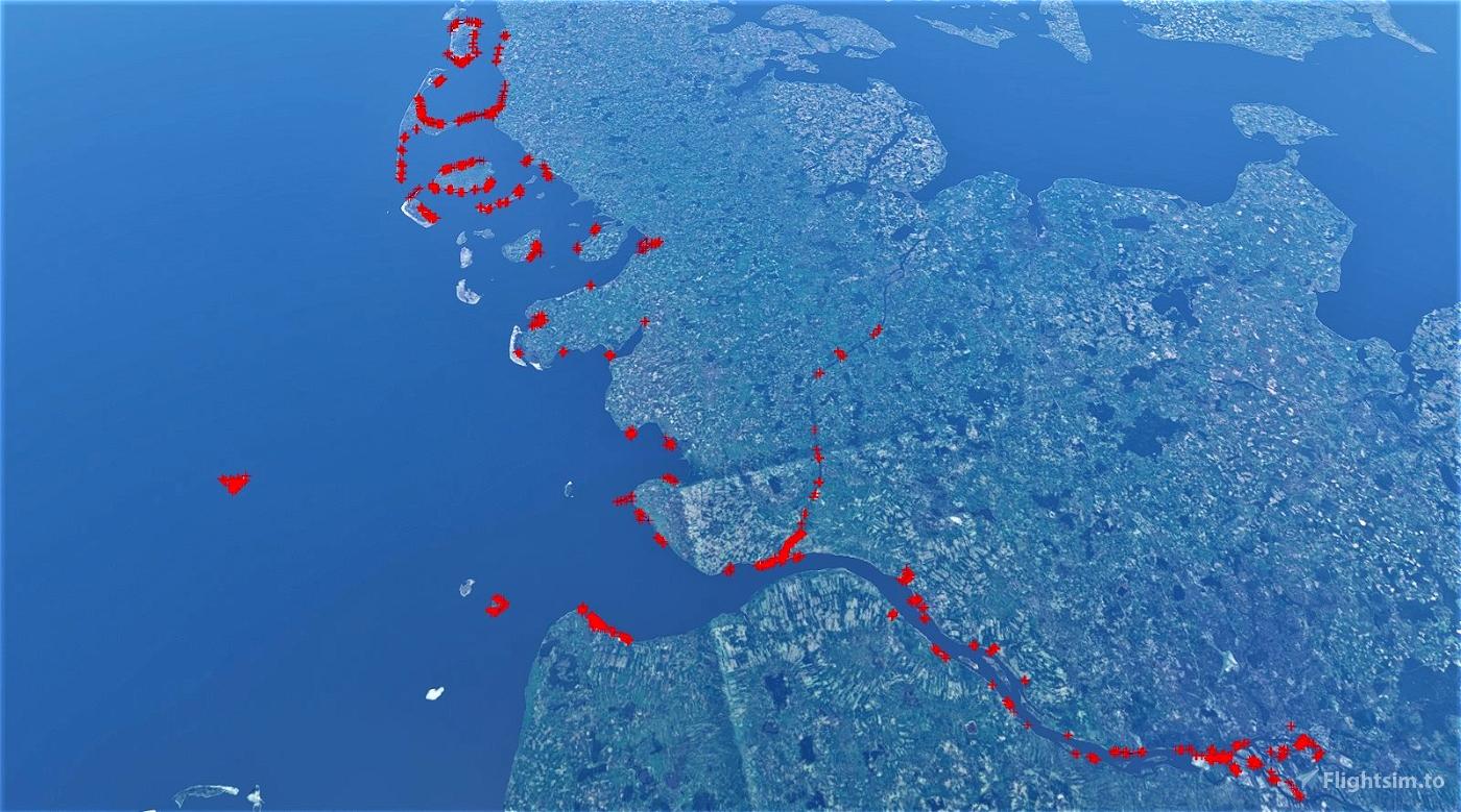 northseacoastfix Germany (Schleswig-Holstein, incl. Elbe und NOK) Flight Simulator 2020