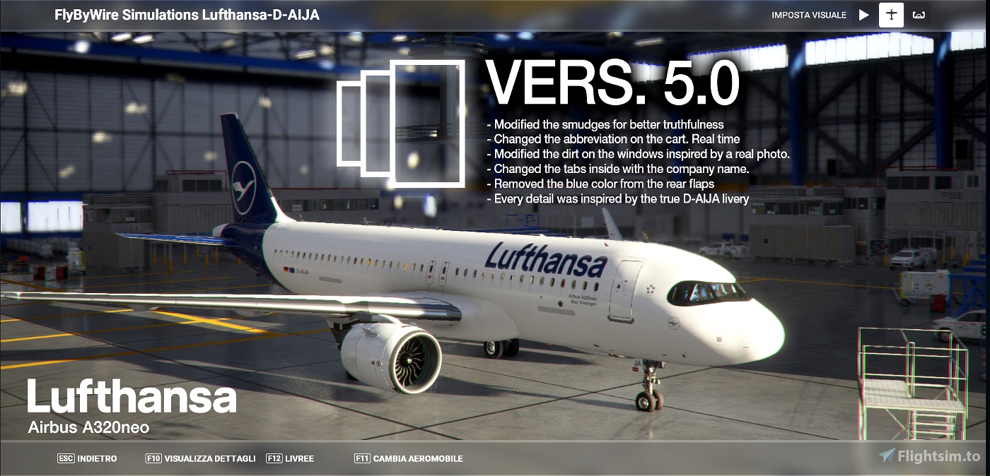 [A32NX] FlyByWire and all mod | Airbus A320neo Lufthansa D-AIJA | in [8k] OFFICIAL Realistic Microsoft Flight Simulator
