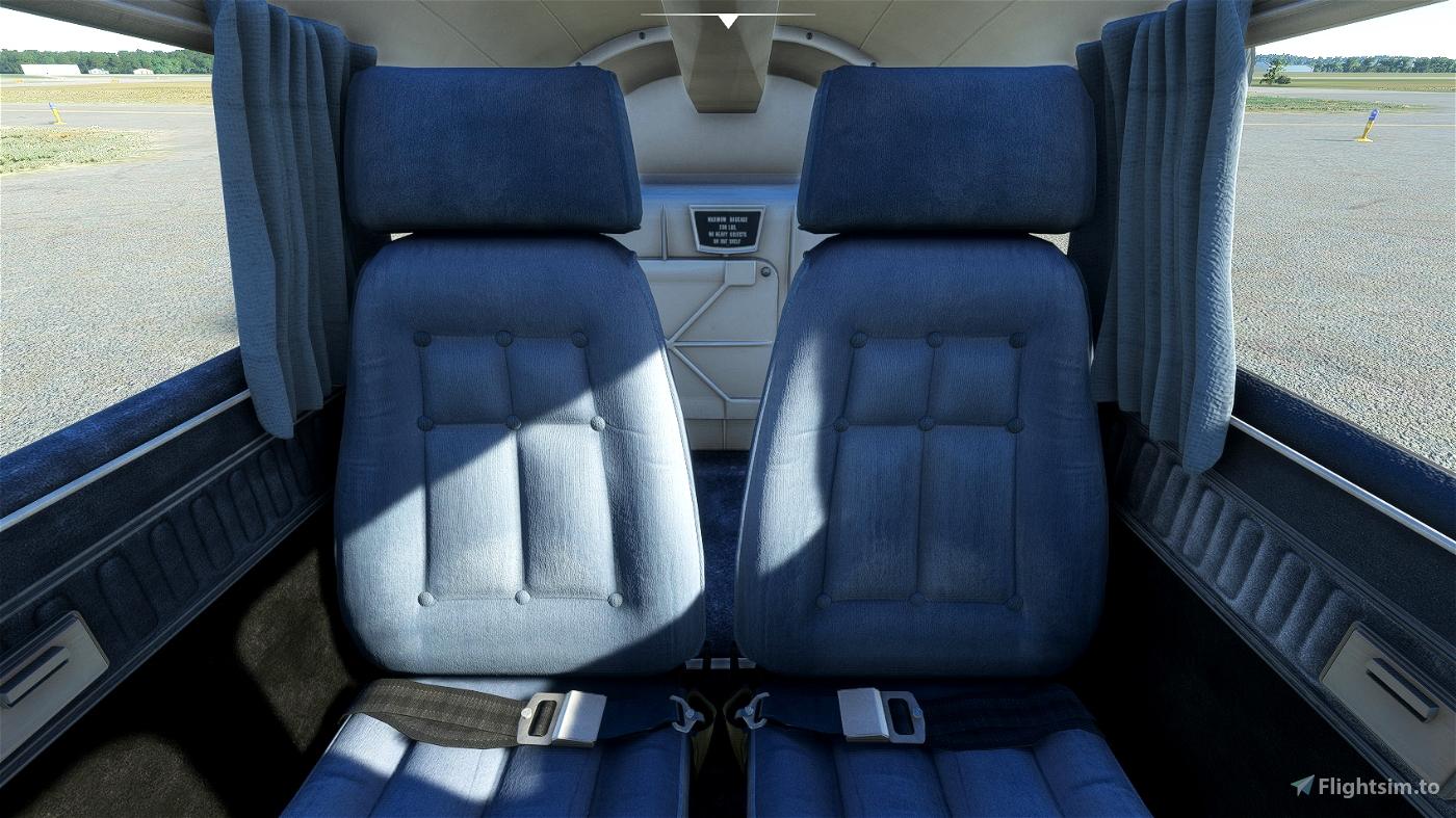 JustFlight Piper PA28 Turbo Arrow III - Clean Interior Mega Pack