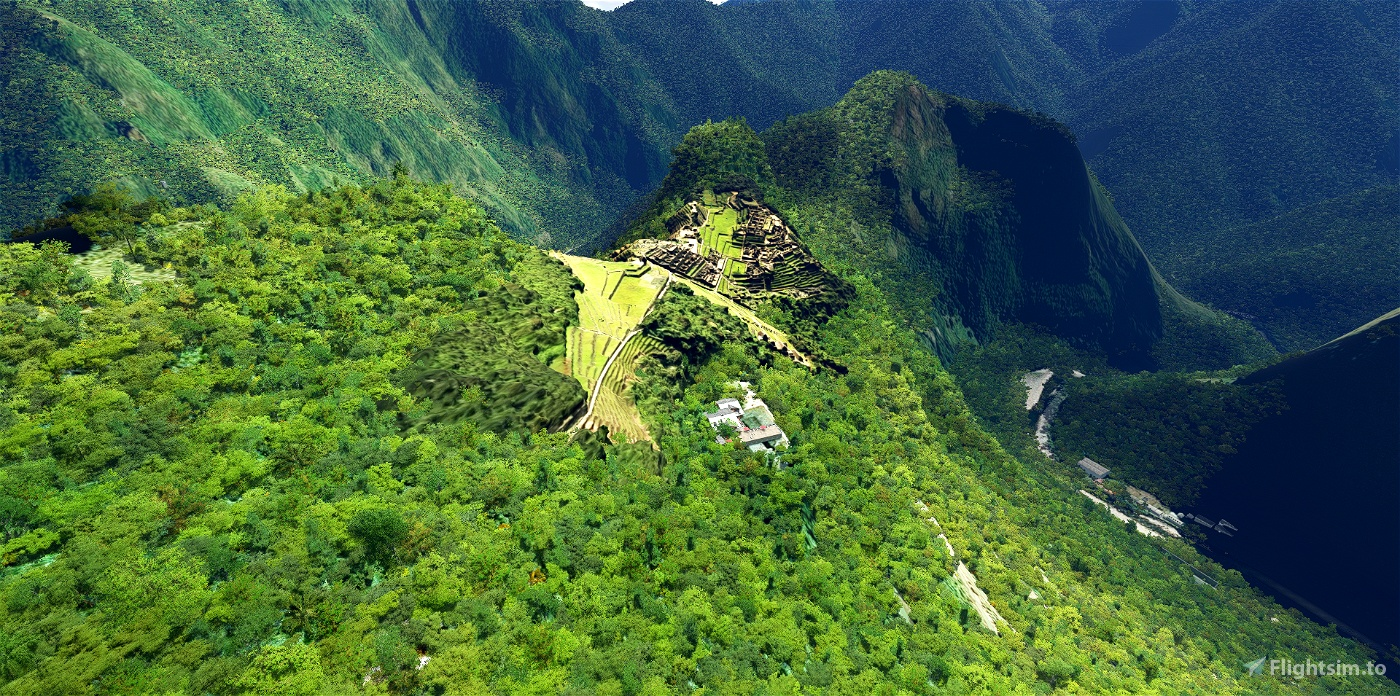Machu Picchu Microsoft Flight Simulator