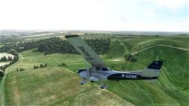Southampton to Oxford Microsoft Flight Simulator