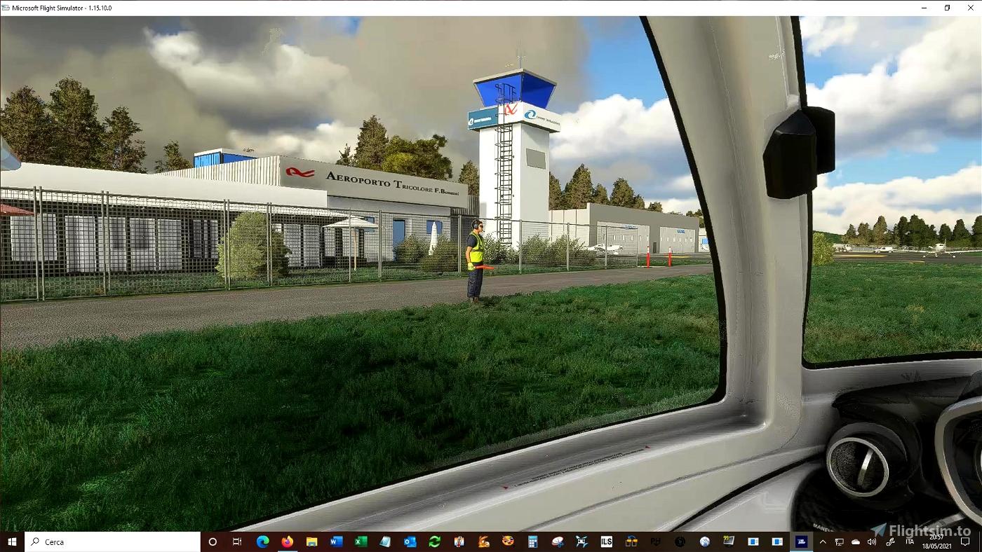 Aeroporto di REGGIO EMILIA, F. Bonazzi Airport (LIDE)