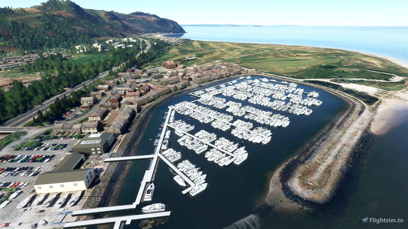 North Wales Marinas Microsoft Flight Simulator