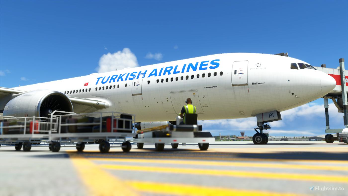 Captain Sim 777-200 Turkish Airlines