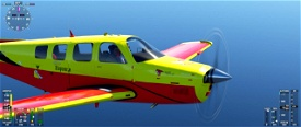 Beechcraft Bonanza Voronezh Aviation Club Microsoft Flight Simulator