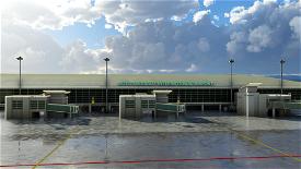Kota Kinabalu International Airport - WBKK Image Flight Simulator 2020