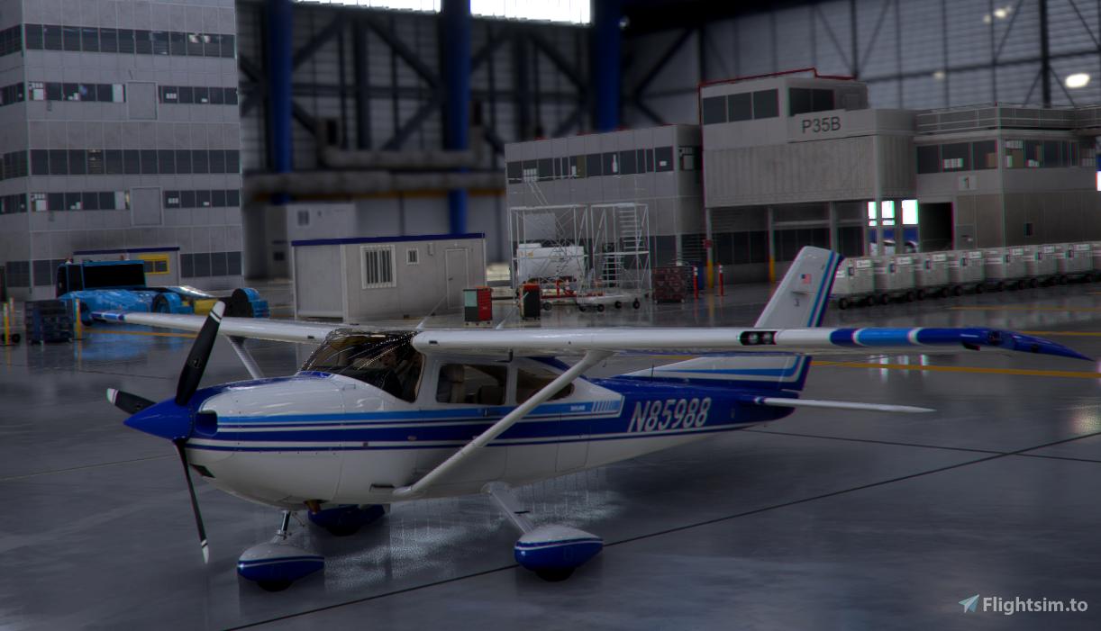 Cessna 182 N85988 Microsoft Flight Simulator