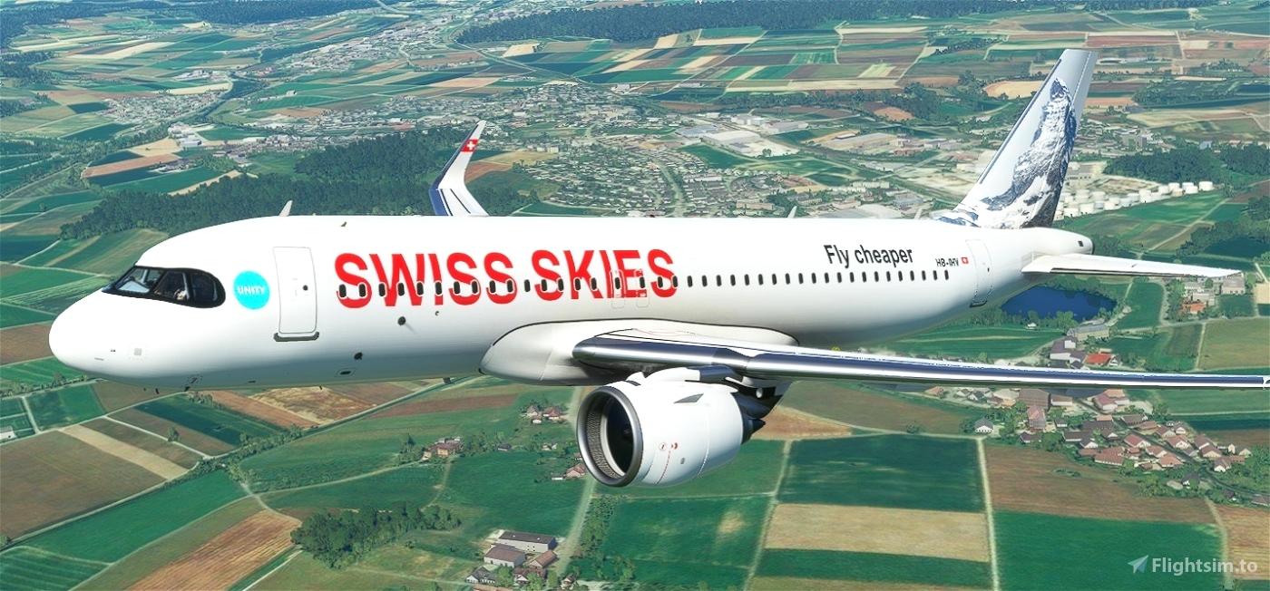 Asobo_A320_NEO Swiss Skies (Fictional)