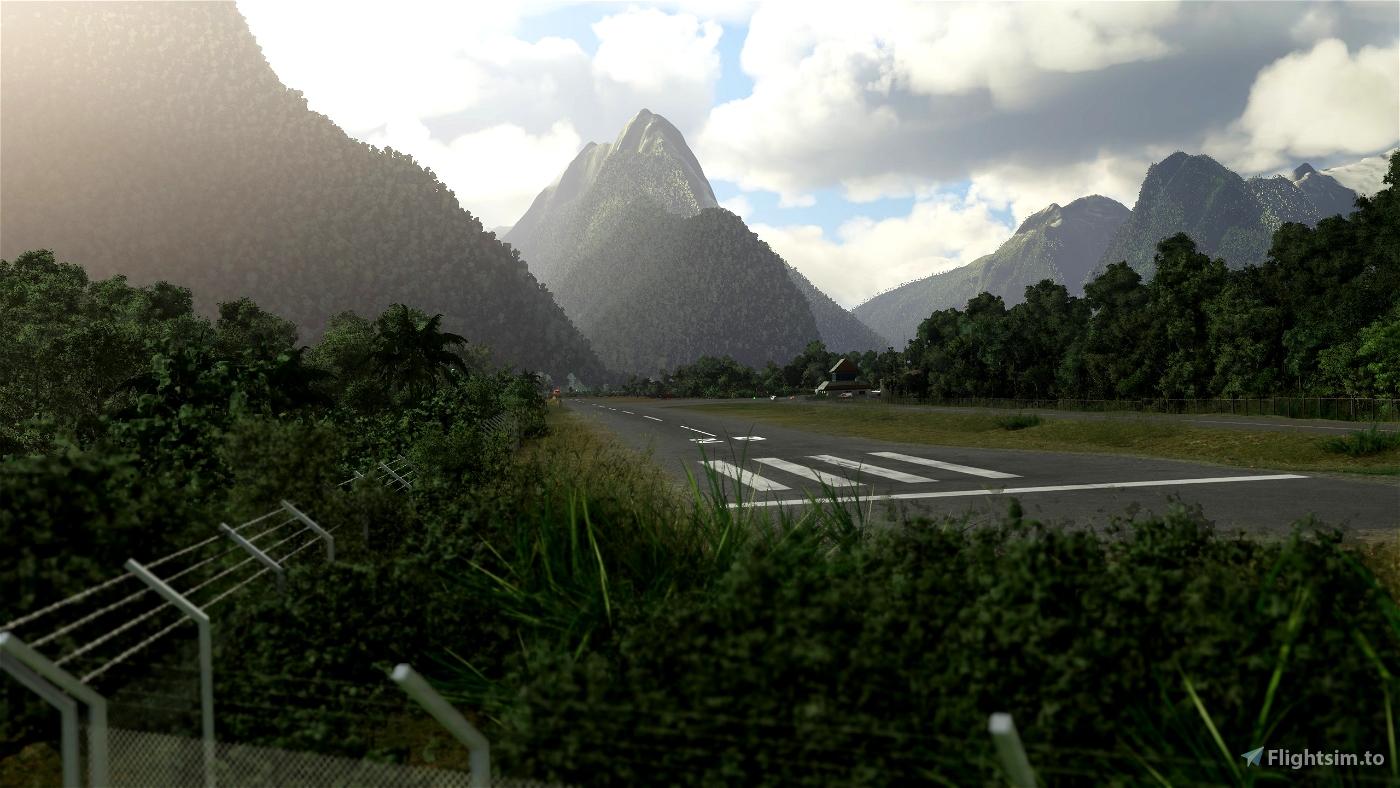 Milford Sound Airport NZMF (New Zealand)  v2.4