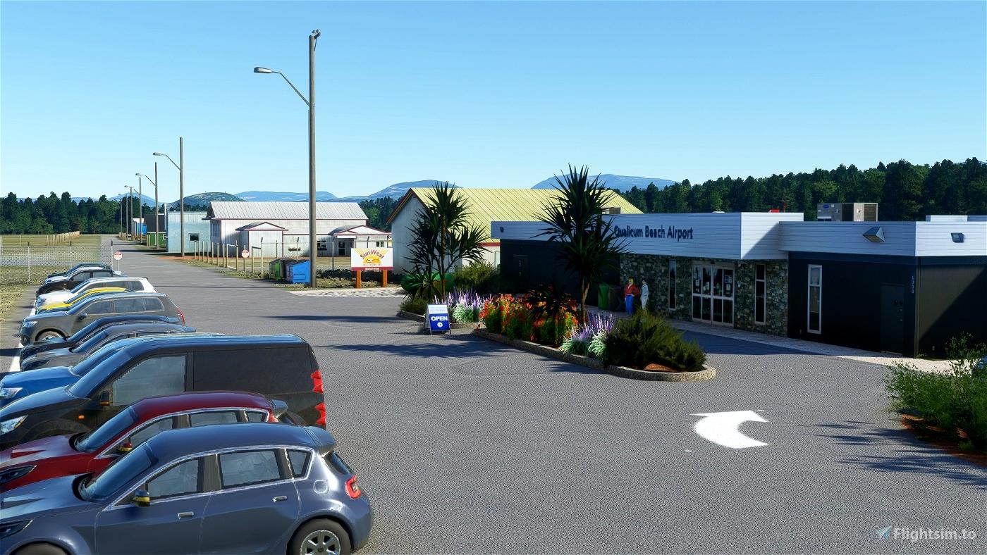 CAT4_Qualicum Beach airport Flight Simulator 2020