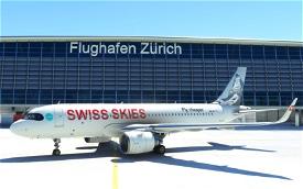Asobo_A320_NEO Swiss Skies (Fictional) Microsoft Flight Simulator