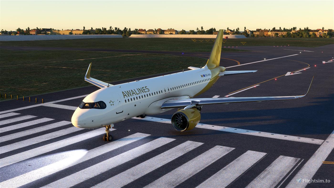 [A32NX] A320 AWALINES livery