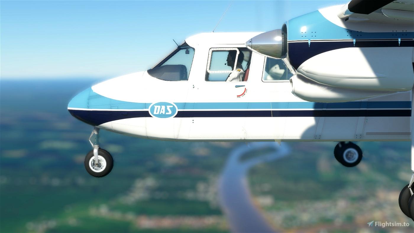 BN2A Islander Dirgantara Air Service  Microsoft Flight Simulator
