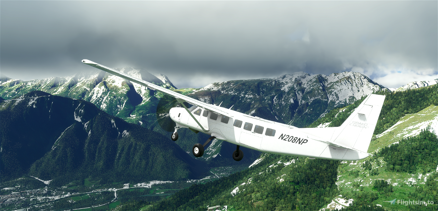 Cessna 208 B Grand Caravan EX - No Pod