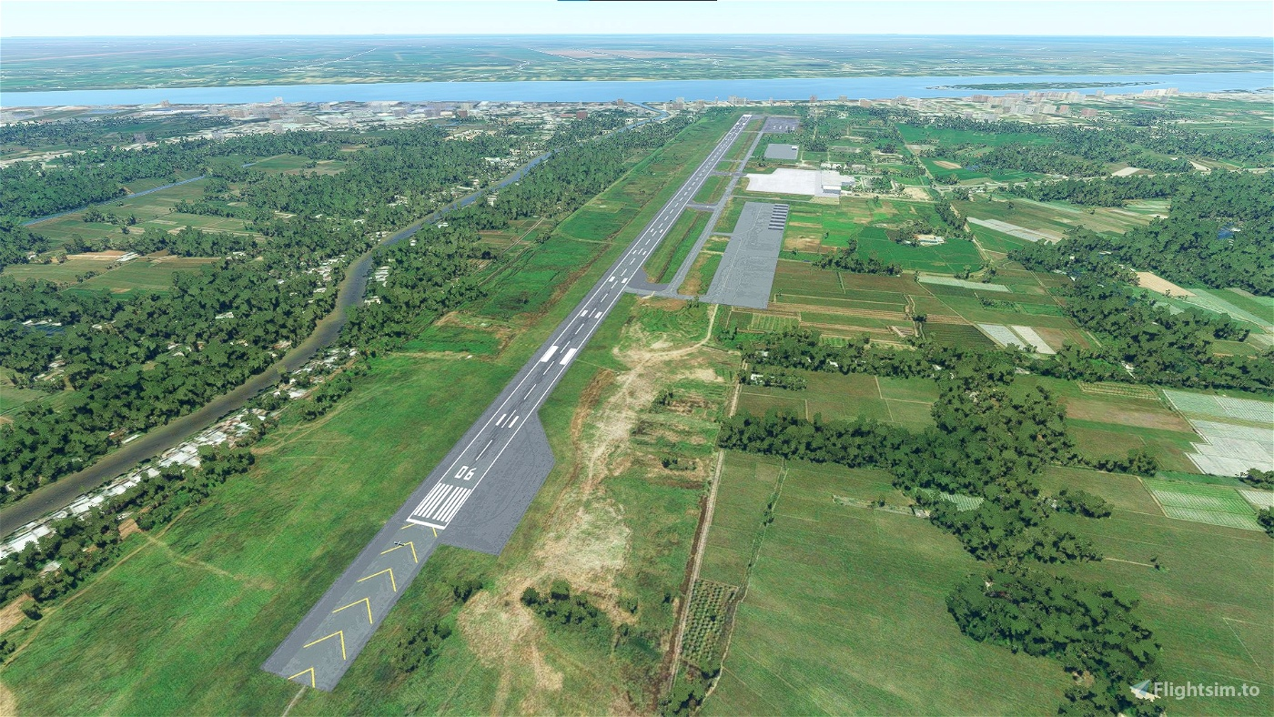 Tra Noc Airport - Vietnam Microsoft Flight Simulator