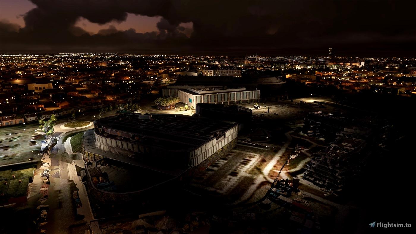 Rimini city centre and landmarks