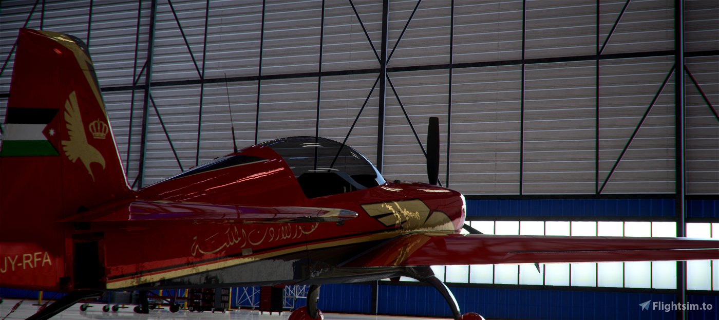 Extra E330 Royal Jordanian Falcons