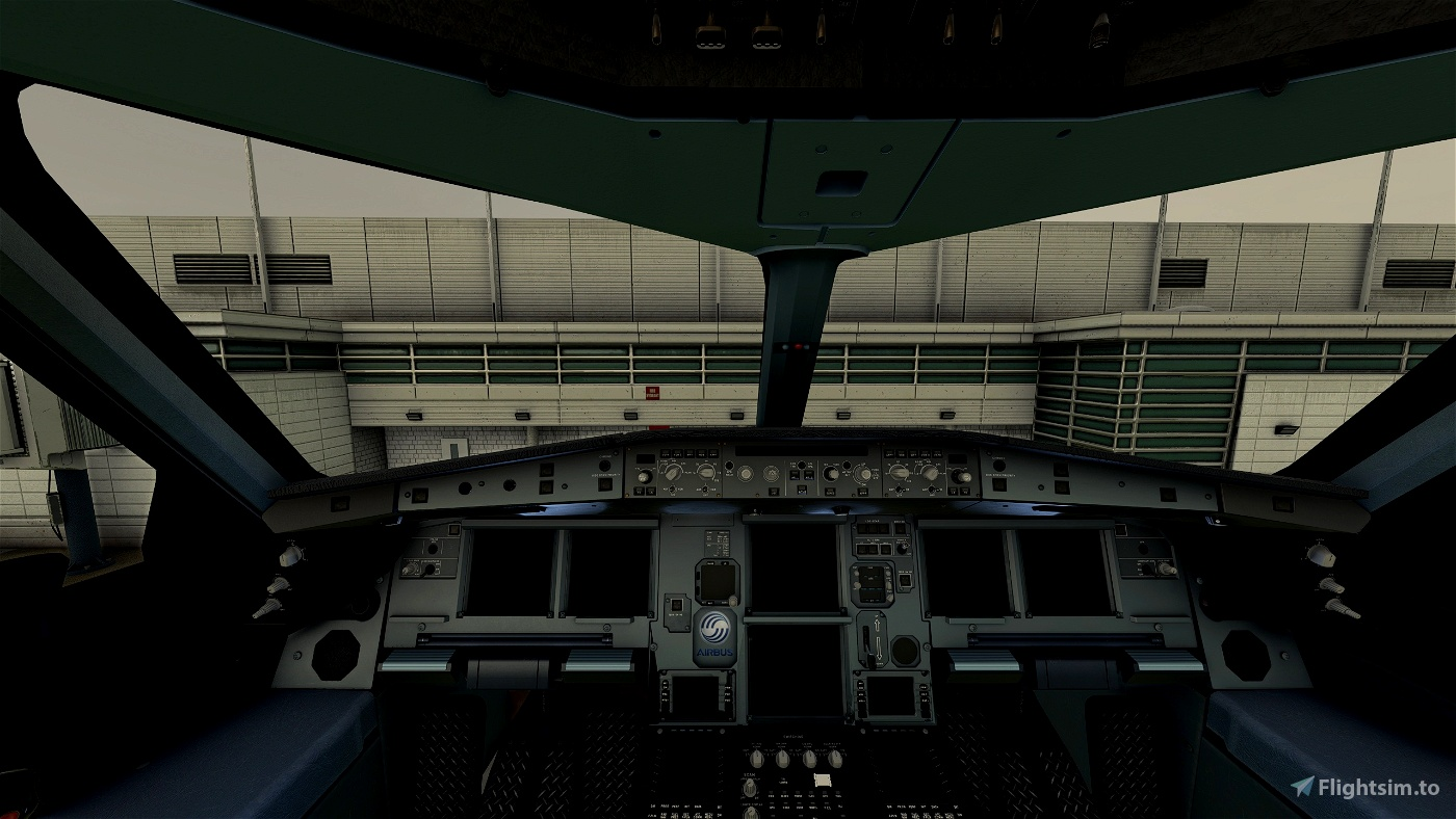 A330-300_ New Carbon Cockpit_BlackSeatFloor Flight Simulator 2020